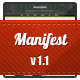 Manifest - Premium HTML5 Template - ThemeForest Item for Sale