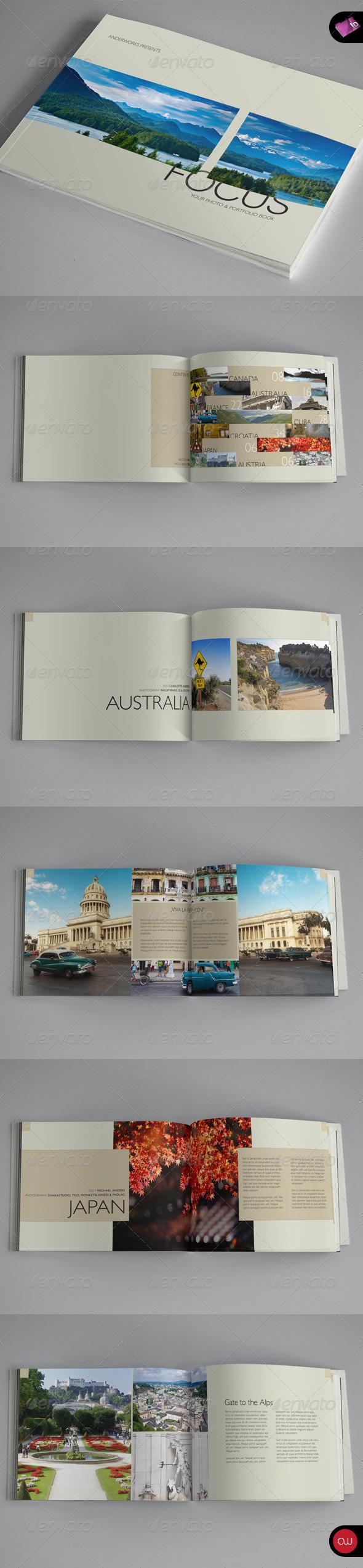 GraphicRiver Book & Brochure Focus Series 1990492