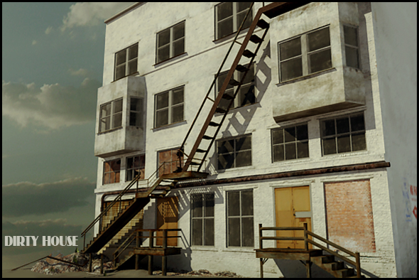 3DOcean Dirty house 231382