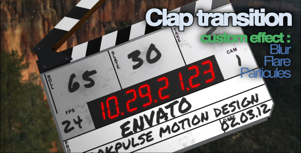 VideoHive Clap Transition 1990665