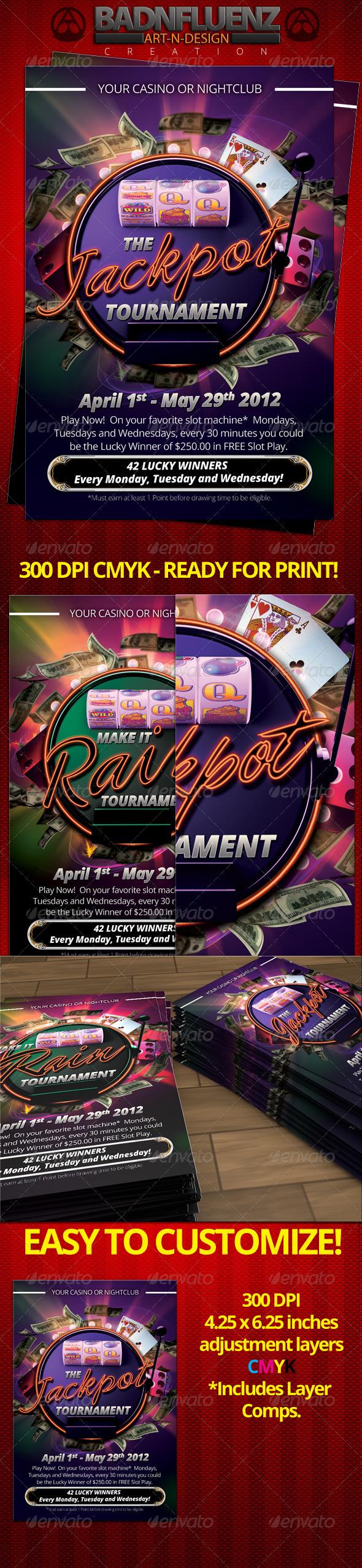 Casino 4x6 Flyer