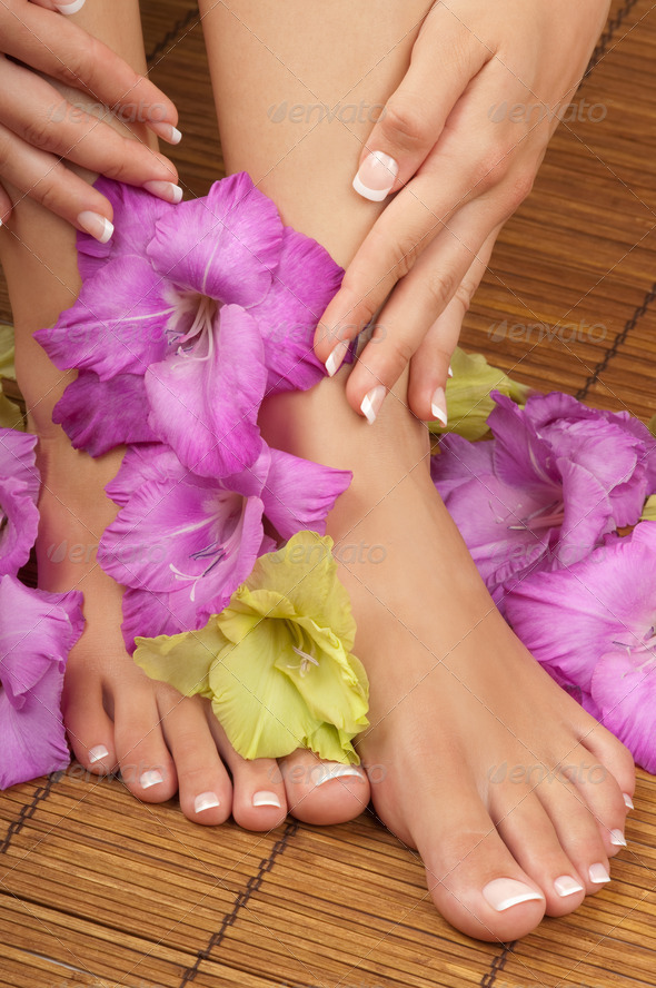 Pedicure Manicure Spa - Stock Photo - Images