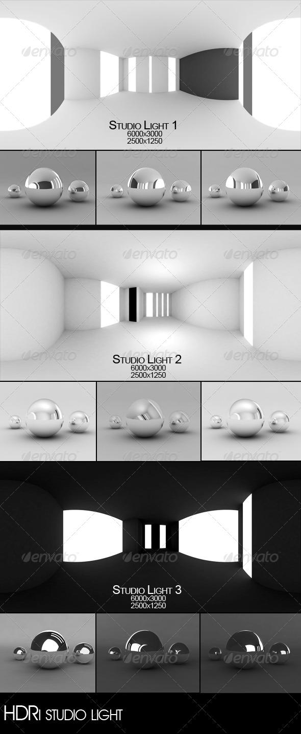 Studio light - 3DOcean Item for Sale