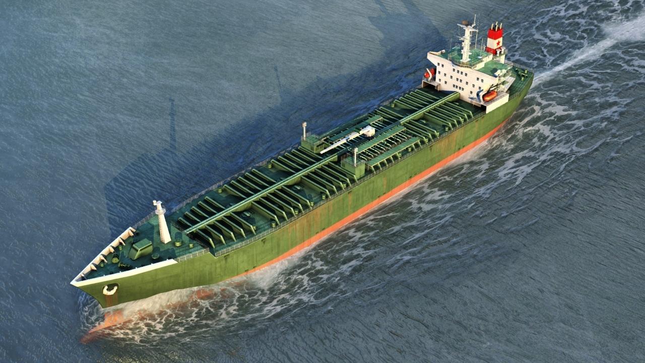 3DOcean Oil Tanker Vessel 1991758