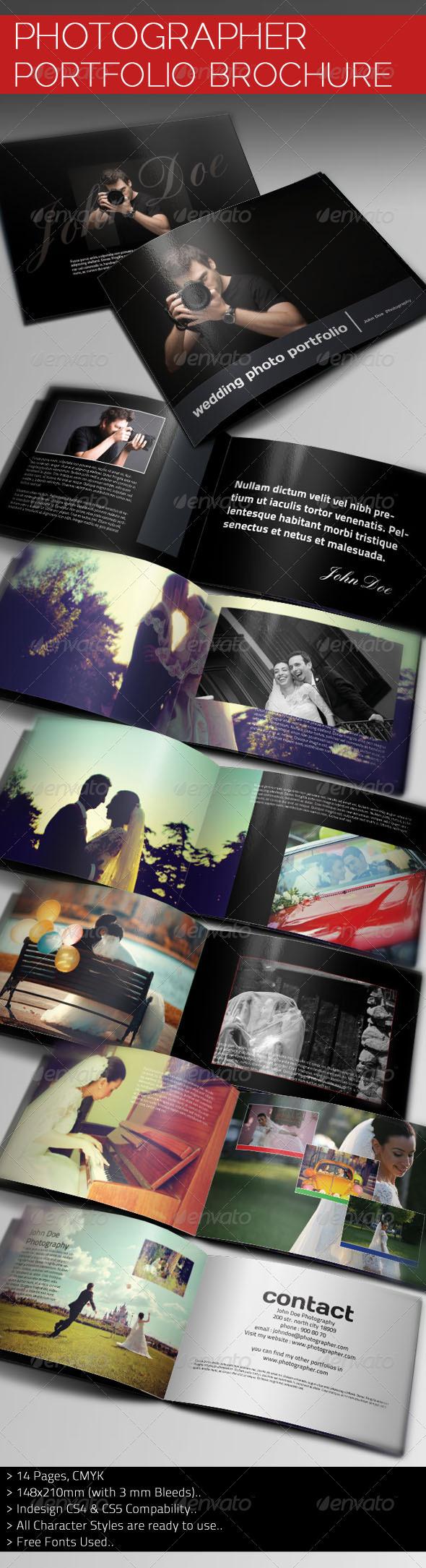 Photographer Portfolio Brochure Template