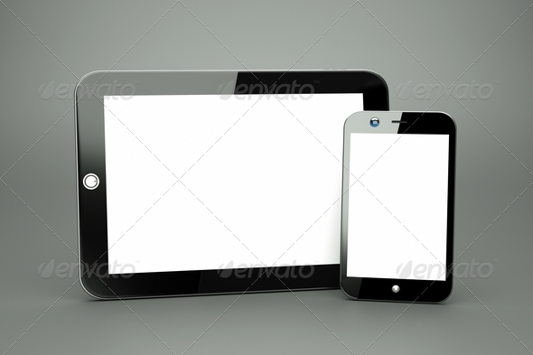 PhotoDune tablet 1992283