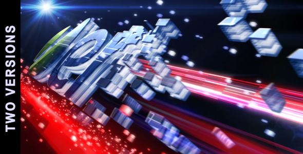After Effects Project - VideoHive Digitally Generated 3D Logo 2 in 1 231581