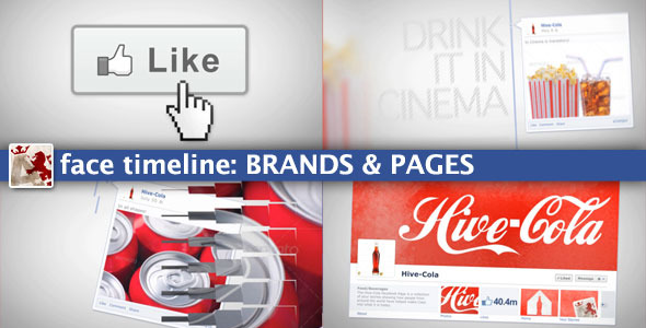 After Effects Project - VideoHive Face Timeline Brands&Pages 1981811
