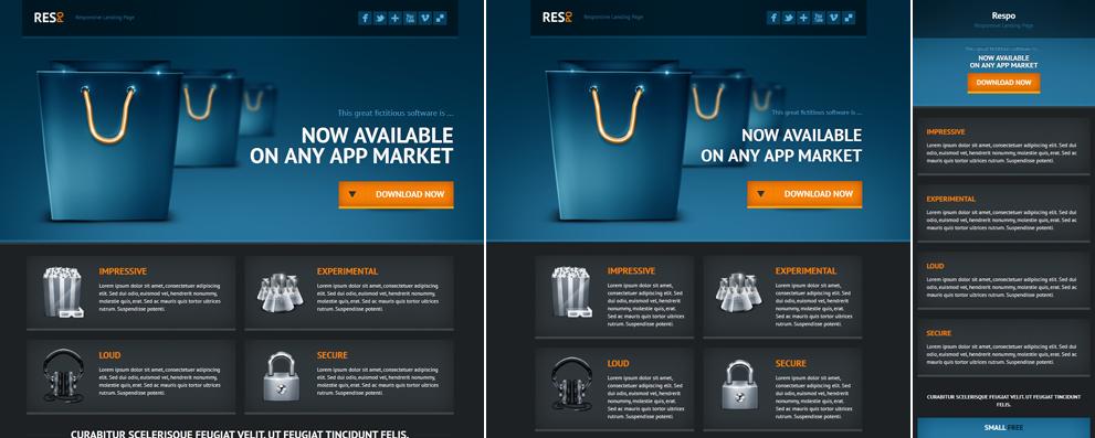 Respo - Responsive Landing Page