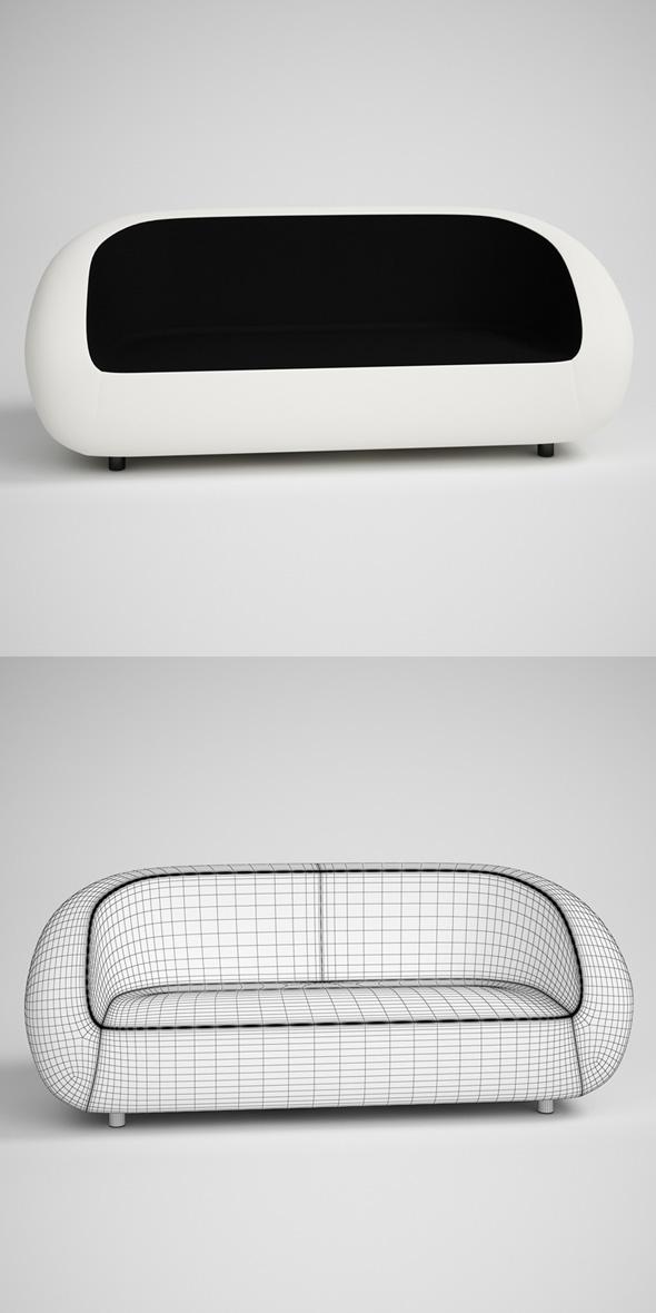 3DOcean CGAxis Contemporary Sofa 19 231717