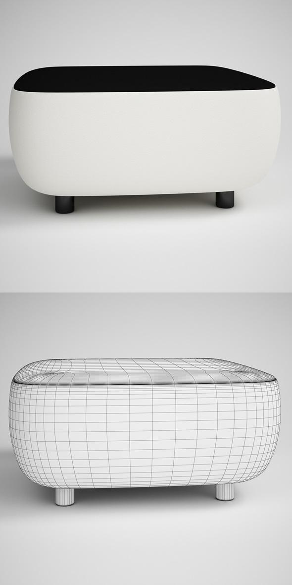 3DOcean CGAxis Contemporary Table 20 231720