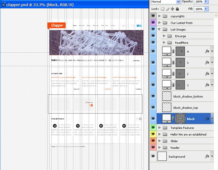 Clapper - Portfolio & Blog HTML Template
