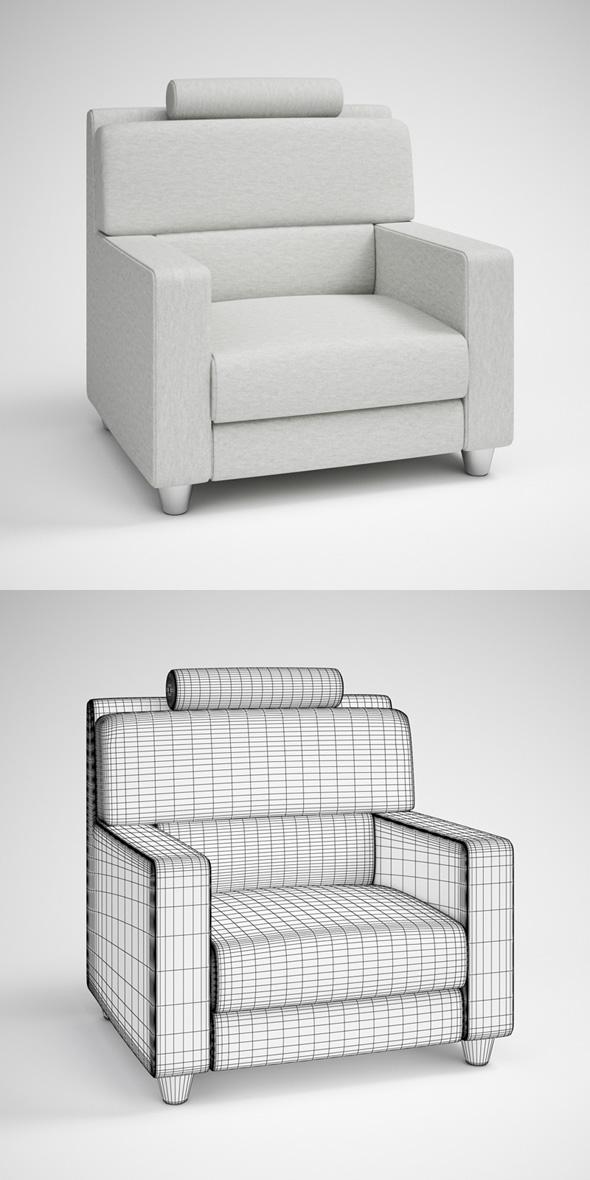 3DOcean CGAxis Modern Armchair 24 231728
