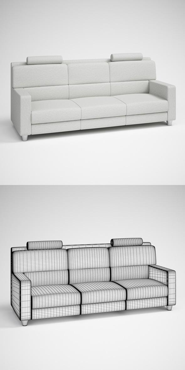 3DOcean CGAxis Modern Sofa 25 231729
