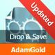 Падіння Зберегти N ' - Drag & падіння Uploader - WorldWideScripts.net пункт для продажу