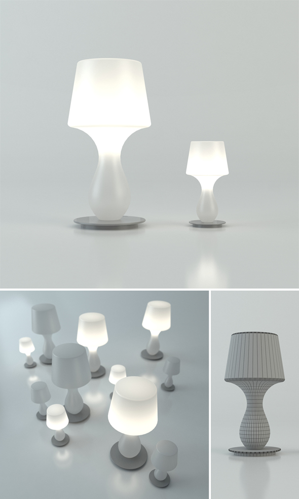 Fata Fatina lamp - 3DOcean Item for Sale