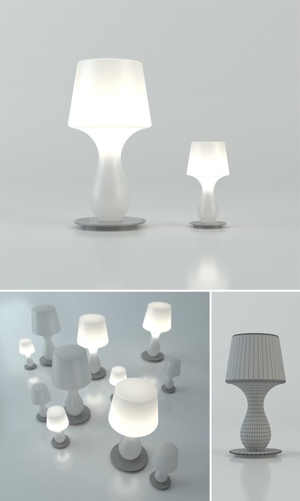 3DOcean Fata Fatina lamp 231865