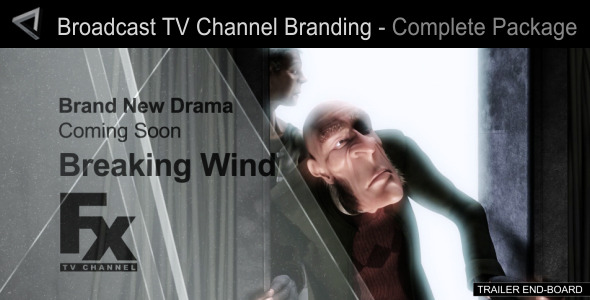 Broadcast Design TV Channel Branding Full Package