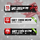 Special Christmas Download Button Pack - GraphicRiver Item for Sale