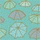 Splashing Umbrellas Pattern - GraphicRiver Item for Sale