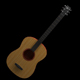 Cinema 4D Acoustic Guitar - 3DOcean Item for Sale