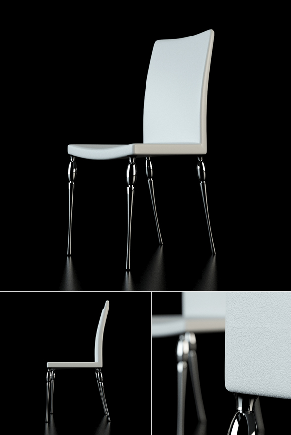 Musa chair - 3DOcean Item for Sale