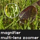 Multi-lens image zoomer - magnifier - ActiveDen Item for Sale