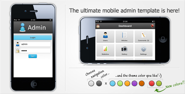 ThemeForest iAdmin 108163