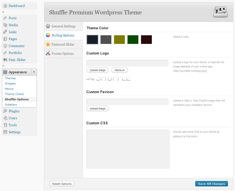 Shuffle - Premium Corporate & Portfolio WP Theme