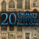 20 Ornate Window Textures - Pack One - GraphicRiver Item for Sale