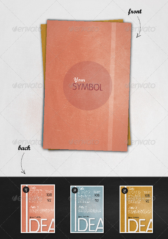 GraphicRiver Vintage Flyers 232013