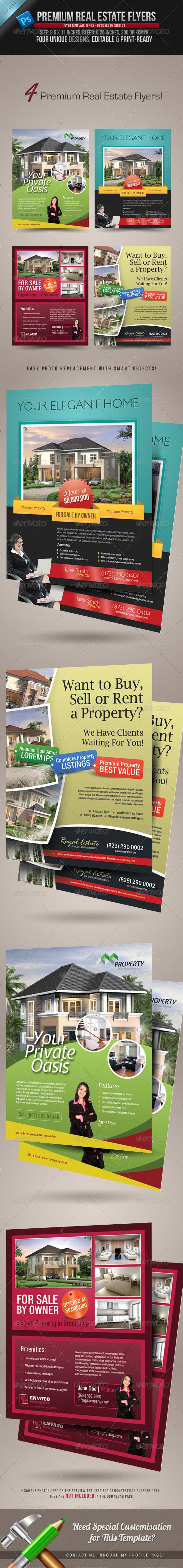 GraphicRiver Premium Real Estate Flyers 1267214