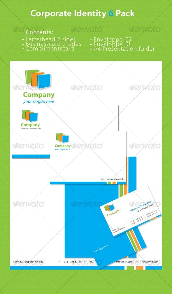 Corporate Identity 6 Pack