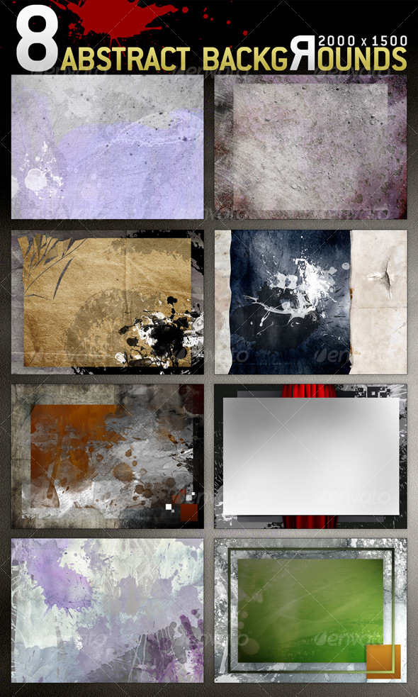 8 Abstract Backgrounds - Abstract Backgrounds