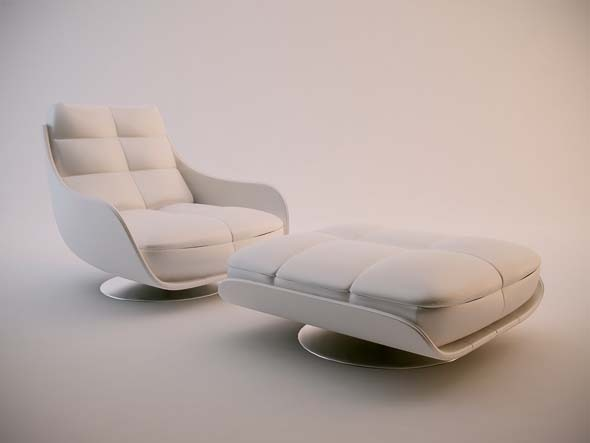 Chateau d'Ax Ginga Chair - 3DOcean Item for Sale