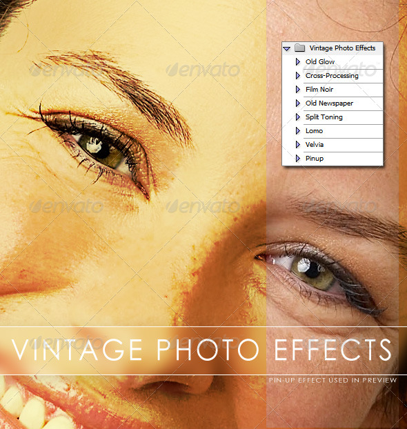 Vintage Photo Effects - Photo Effects Actions