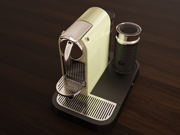 3DOcean 3D Model Citiz n Milk Espresso Maker Model 232789