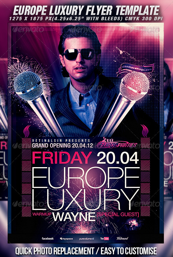 Europe Luxury Flyer Template