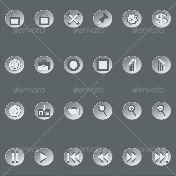 Retro web buttons (set2) - Web Technology