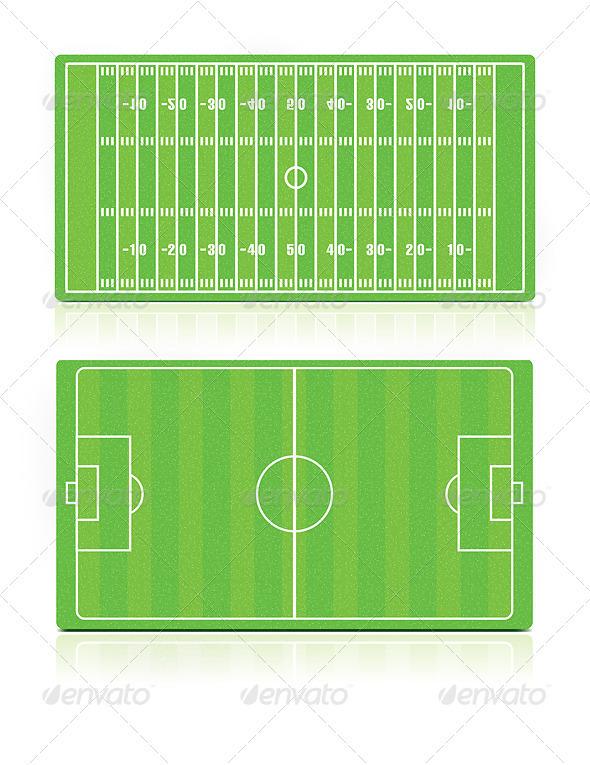 GraphicRiver Sport Fields Set 2002752