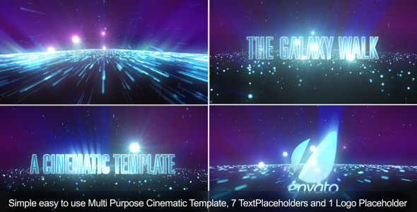 After Effects Project - VideoHive The Galaxy Walk-Cinematic Template 2004618
