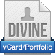 Divine - vCard/Portfolio - With AJAX Contact Form