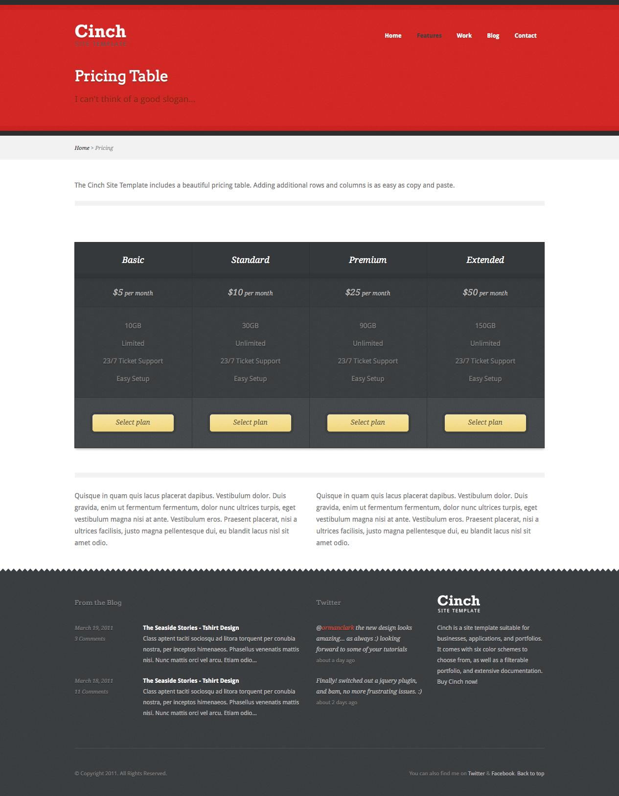 Cinch - Business WordPress