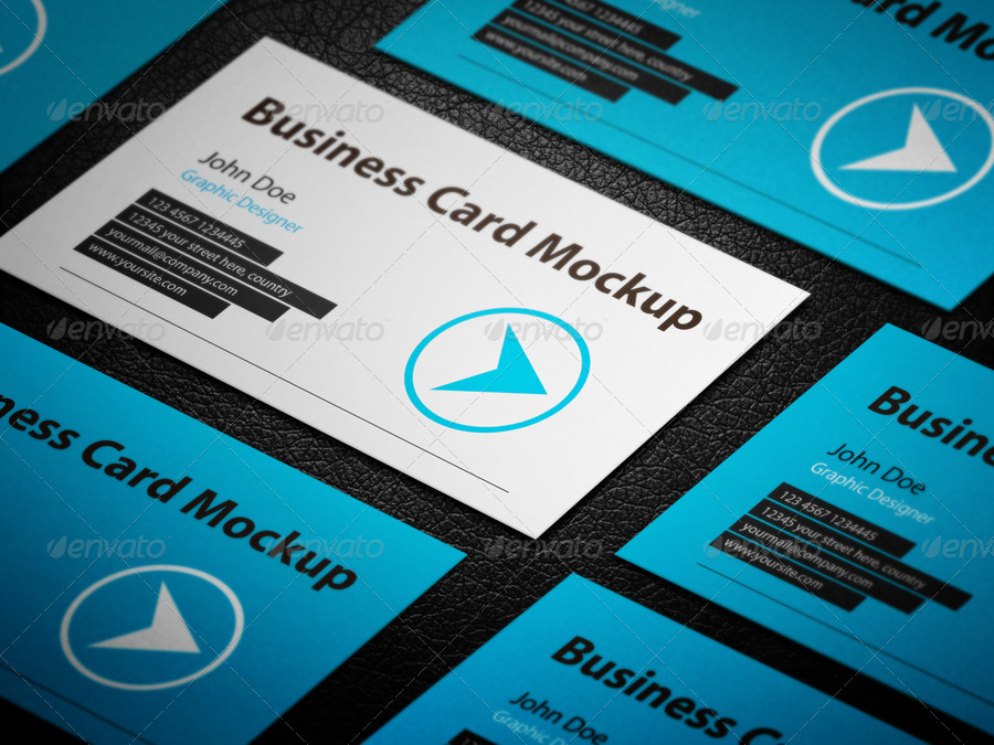 Business Card Mockup Big Bundle