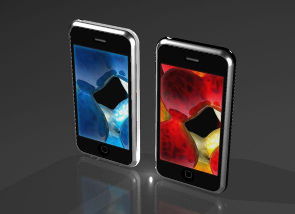 3DOcean Sleek Touchscreen Smart Phone 75541