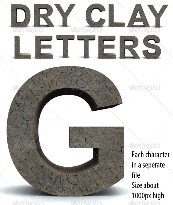 Dry Clay Letters