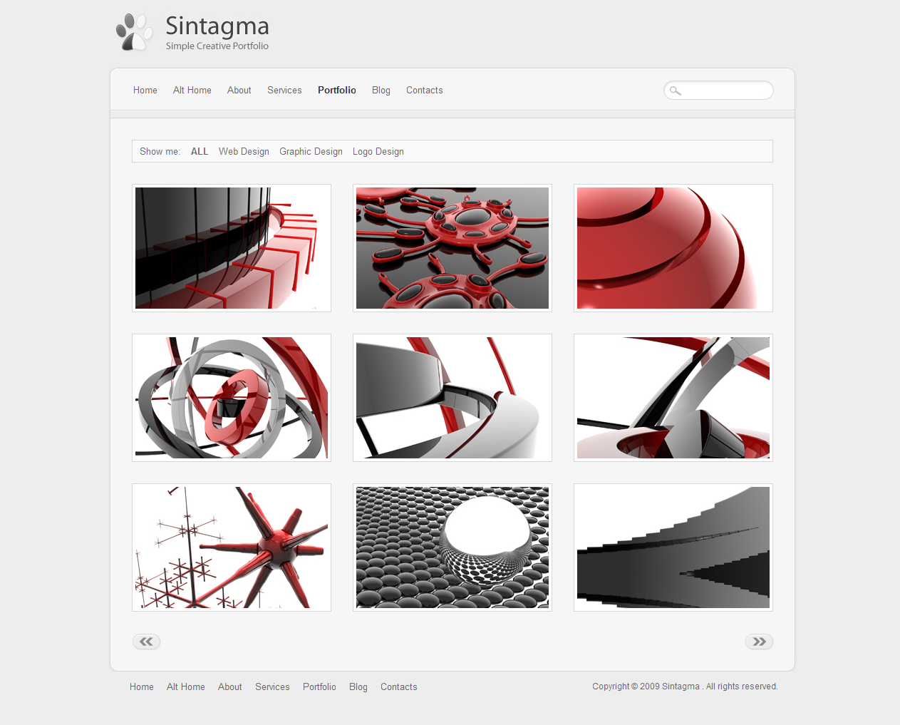 Sintagma - Clean and Elegant Site Template