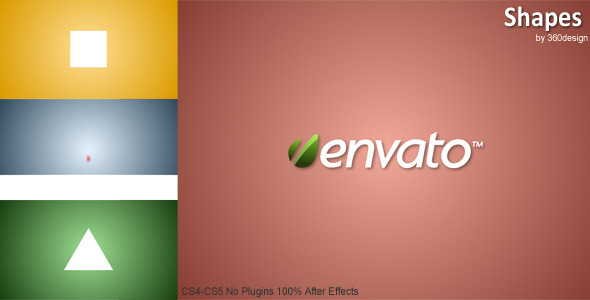 After Effects Project - VideoHive Shapes 2005078