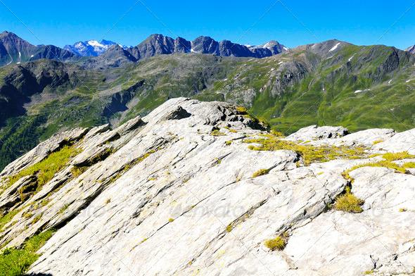 St. Bernard Pass - Stock Photo - Images