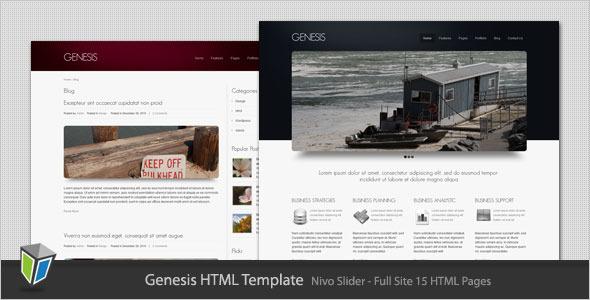 Genesis - Business and Portfolio HTML Template